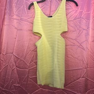 Bebe Neon Fitted Dress